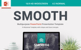 Smooth Template PowerPoint №79712