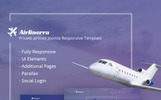 """Airlinerra - Private Airline"" 响应式Joomla模板"