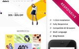 Reszponzív Claires - The Fashion Store Responsive WooCommerce sablon