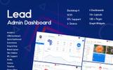 Lead Dashboard Admin Template