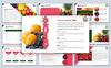 """PowerPoint Vorlage namens """"Fruit"""" Großer Screenshot"""