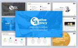 """PowerPoint Vorlage namens """"Creative Agency"""""""