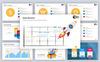 """PowerPoint Vorlage namens """"Creative Agency"""" Großer Screenshot"""