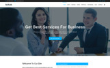 Bizhub - Business One Page Joomla Template