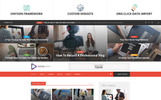 Motyw WordPress SocialVideo - Viral Youtube And Vimeo Video Magazine #65927