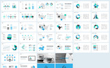 """""""Clean Wave"""" PowerPoint Template"""
