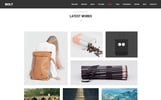 "WordPress шаблон ""Bolt - Creative One page Portfolio"""