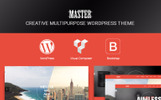 """Master - Creative Multi Purpose"" thème WordPress adaptatif"