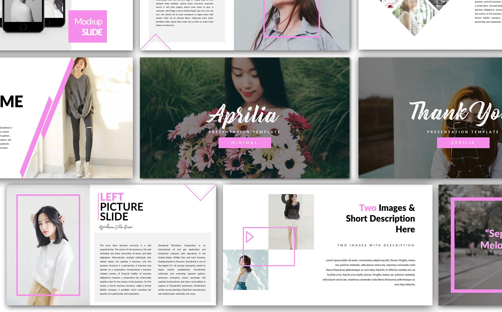 Plantilla Powerpoint 65898 Para Sitio De Moda # Los Muebles Powerpoint