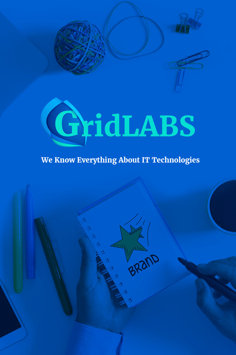 GridLabs - IT Technologies Company Responsive WordPress Theme Big Screenshot
