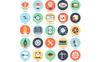 Flat Bundle: 475 Stylish Icons Iconset Template Big Screenshot