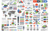 Business Infographic Elements Bundle Infographic Elements Big Screenshot