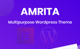 Amrita Multipurpose Business Tema WordPress №80140