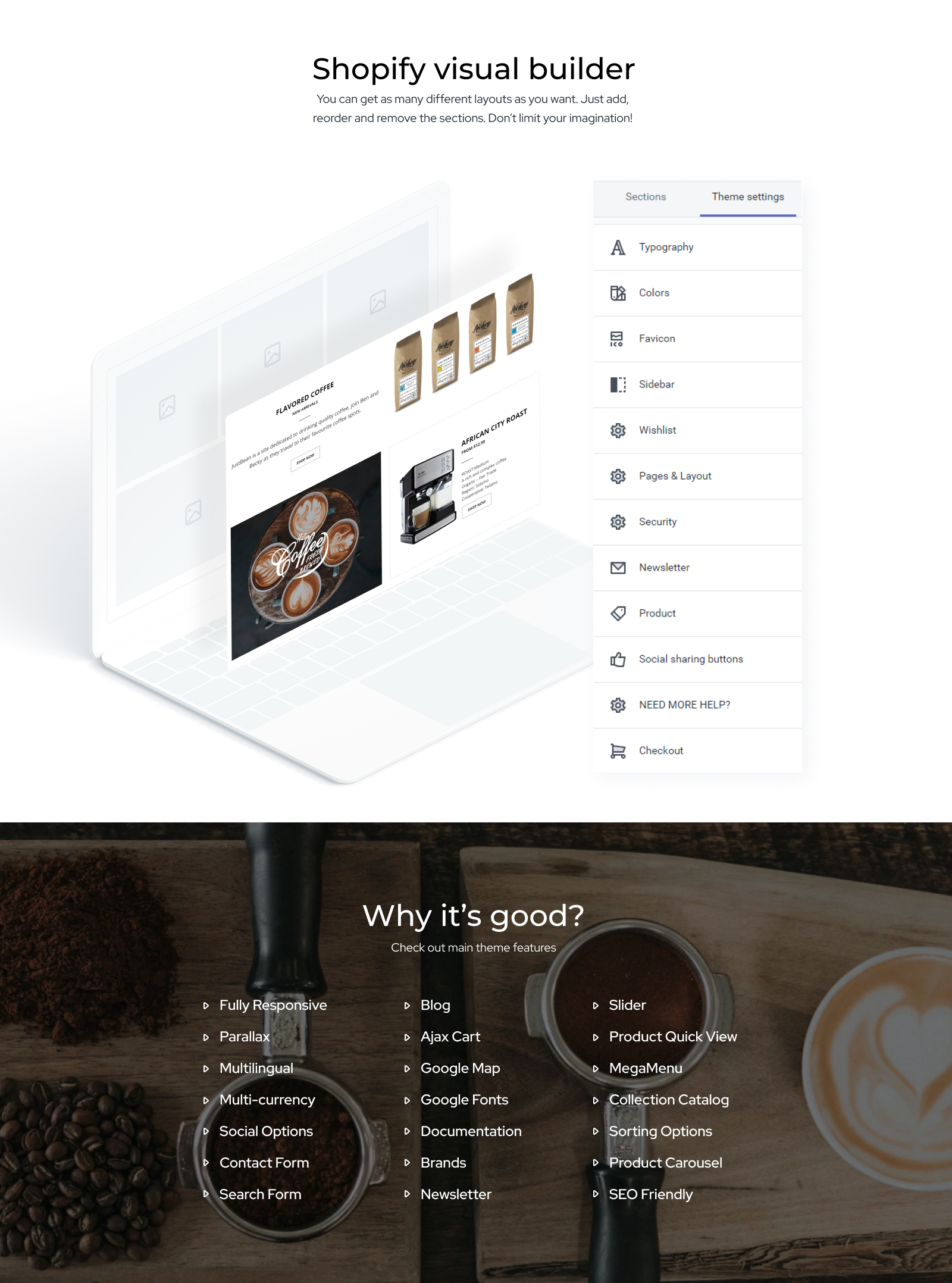 12 Beans - Coffee Shop Ready-To-Use Clean Shopify Theme
