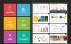 "Tema PowerPoint #64470 ""Albireo Powerpoint Template"" Screenshot grande"
