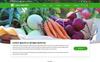 Plantilla PSD para Sitio de Tienda de Alimentos New Screenshots BIG