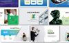 Mockingbird Pitch Desk Pro PowerPoint Template Big Screenshot