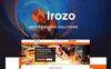 Irozo - Tema WordPress de Soldagem Screenshot Grade