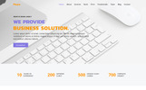 "Landing Page Template namens ""Pears - Business Agency"""