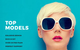 Top Models PSD-mall