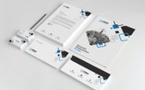 Four Colors Corporate Identity Template