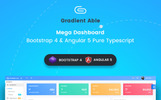 Gradient Able Bootstrap 4 & Angular 5 Dashboard Admin Template