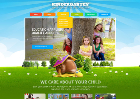 Kids Land Bootstrap