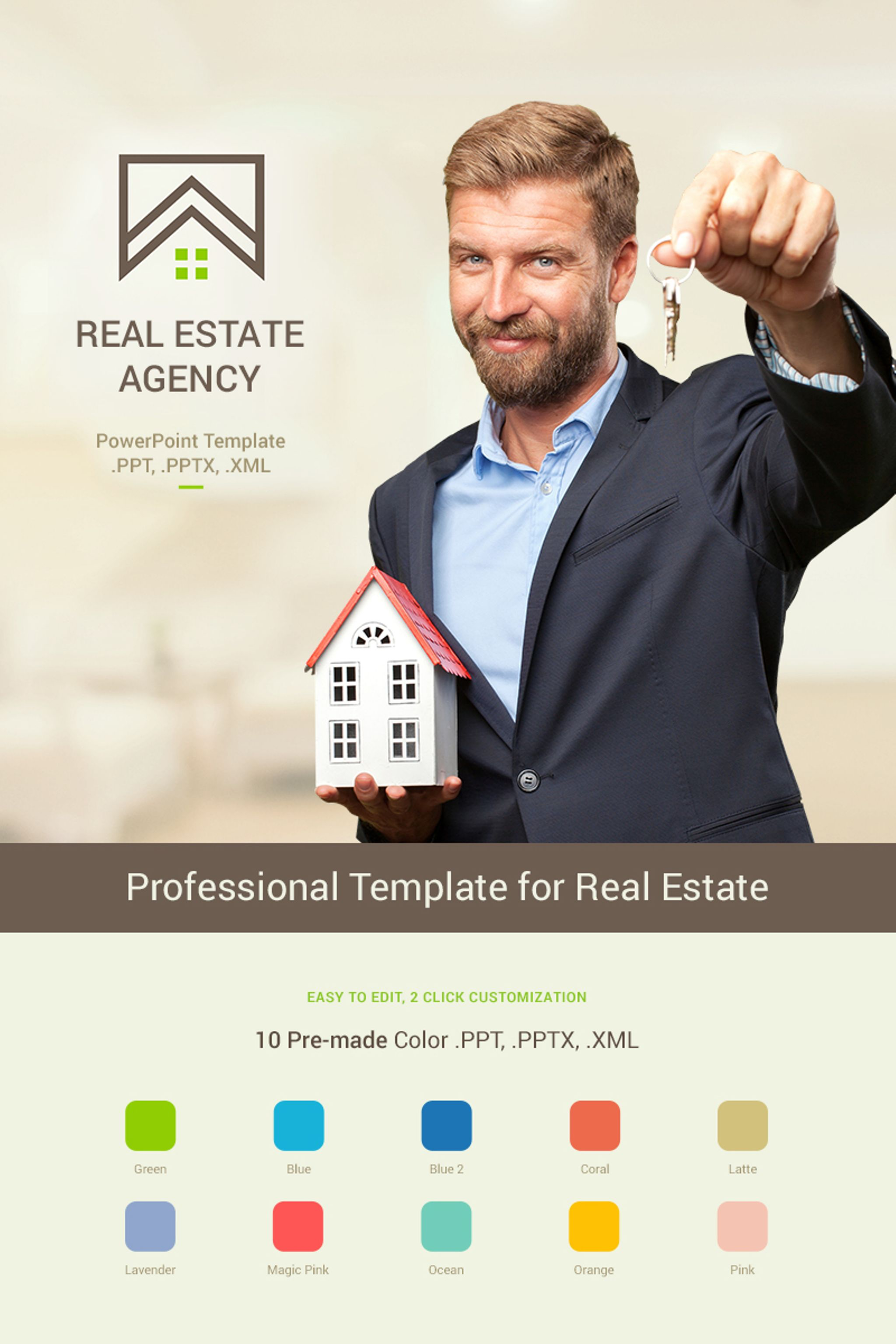 Real estate presentation powerpoint template 65966 real estate presentation powerpoint template toneelgroepblik Gallery