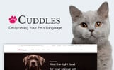 Motyw WooCommerce Cuddles - Pet Shop #65909