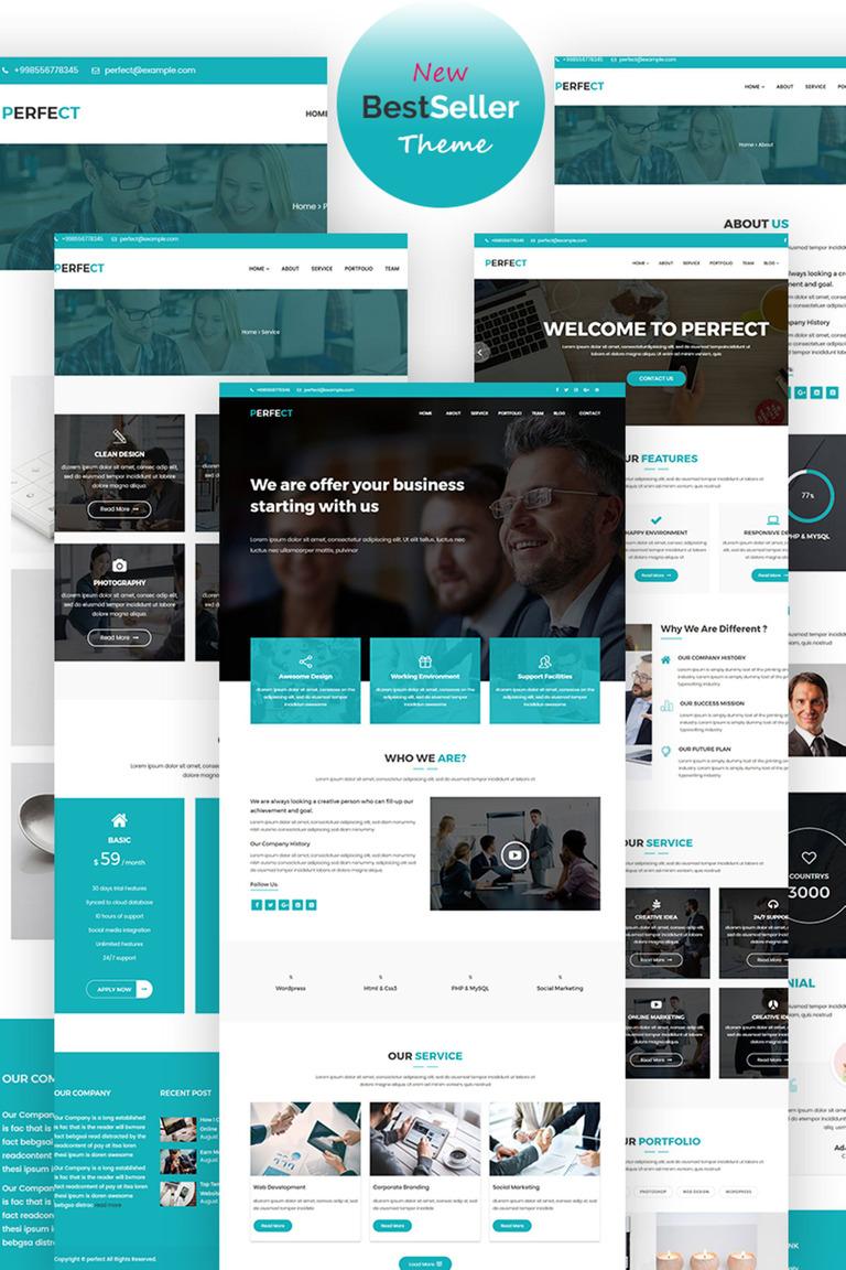Perfect Corporate WordPress Theme Big Screenshot