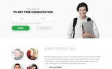EDUSMART - Education Landing Page Template