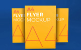 Photorealistic Flyer Product Mockup