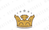 Crown of Three Dogs Logo Template