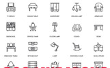 Simple Line Icons Iconset Template