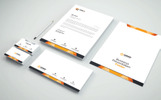 Elegant in 4 colors Corporate Identity Template