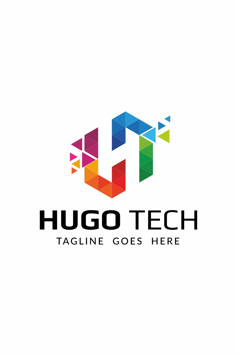 Hugo Tech Logo Template #65963