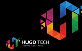 Hugo Tech Logo Template