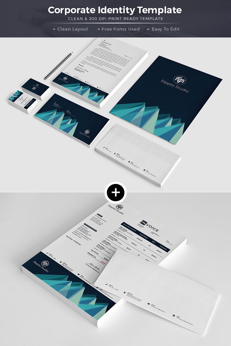 Trading Multipurpose Creative Design Corporate Identity Template #66998