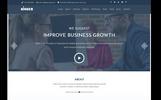 """""""Kinger - Personal / Business Portfolio"""" - адаптивний Шаблон цільової сторінки"""