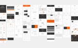 Elementos de IU para Sitio de Gráficos
