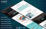 Newsletter-mall för  e-mailtjänster