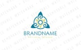 Trinity Knot Cycle Logo Template