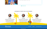 Landing Page Travel PSD Template
