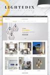 Lightedix - PrestaShop Theme für einen Leuchten & Lampen Online-Shop