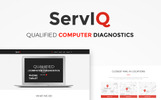 """ServIQ Computer Repair Services"" WordPress thema"