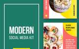 Modern Social Media Kit (Vol. 20) Social Media