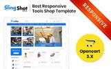 """Slingshot - The Tools Store"" thème OpenCart adaptatif"