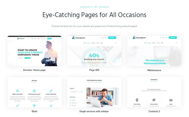 Tema de WordPress #65934 para Sitio de Consultoría