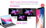 Apple Devices Mockups Bundle Product Mockup