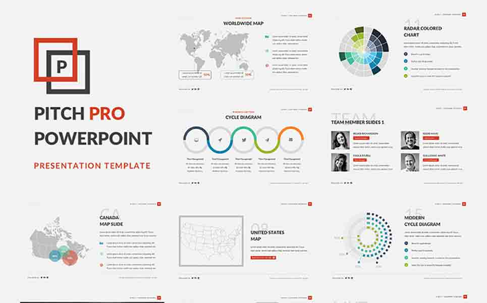 A free for business powerpoint template 66025 zoom in toneelgroepblik Choice Image